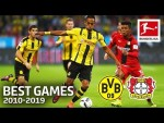 Borussia Dortmund vs. Bayer 04 Leverkusen 6-2 | The Best Games of The Decade 2010-2019