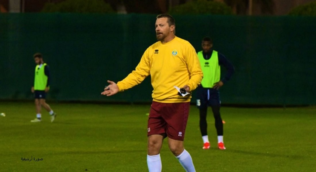 Al Gharafa players continue training under Jokanovic's supervision
