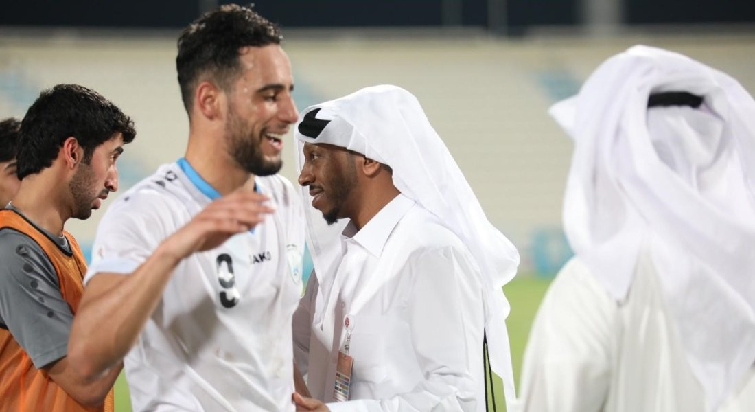 Al Wakrah players train with all precautions