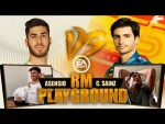F1, FIFA 20 and 7-a-side football! | Marco Asensio vs Carlos Sainz