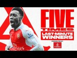 5 times Arsenal won in dramatic fashion