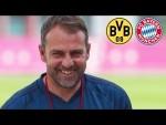 LIVE 🔴 Cyber-Pressetalk mit Hansi Flick vor dem Spiel Borussia Dortmund - FC Bayern München