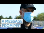 A Message from Pep
