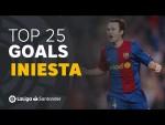TOP 25 GOALS Andrés Iniesta en LaLiga Santander