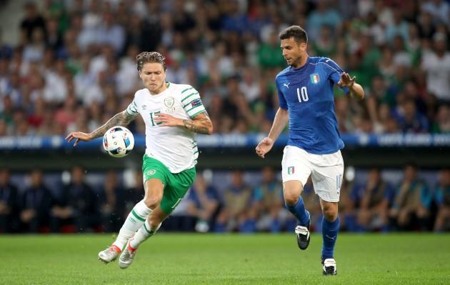 AC Milan target Ireland international