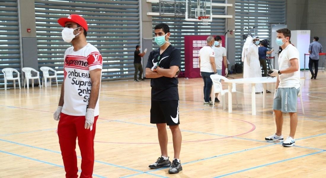 Those who underwent Coronavirus (Covid-19) tests to enter team hotel