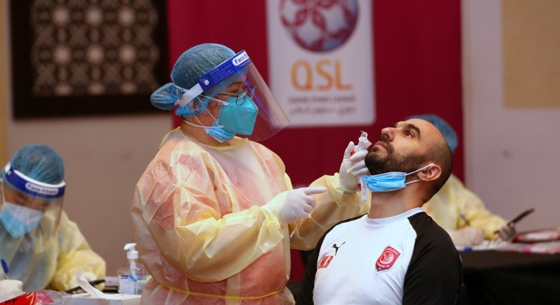 Al Duhail undergo second Coronavirus (Covid-19) tests