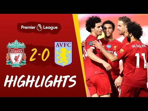 Highlights: Liverpool 2-0 Aston Villa | Curtis Jones scores his first Premier League goal