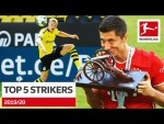 Top 5 Best Strikers 2019/20 - Lewandowski, Haaland and More