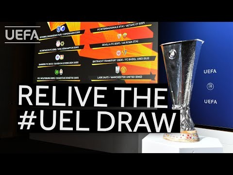 Relive the UEFA Europa League quarter-final, semi-final and final draws!