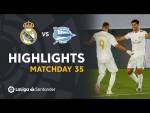 Highlights Real Madrid vs Deportivo Alavés (2-0)