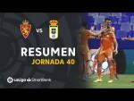 Resumen de Real Zaragoza vs Real Oviedo (2-4)
