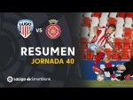 Resumen de CD Lugo vs Girona FC (2-2)