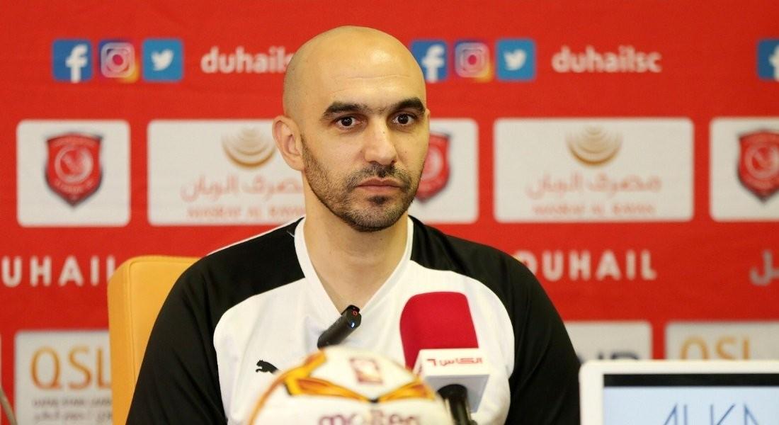 Umm Salal strong rivals, but we're confident: Al Duhail coach Regragui
