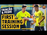 TRINCAO'S FIRST TRAINING SESSION