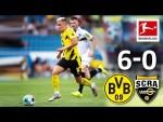 Borussia Dortmund - SCR Altach 6-0 I Highlights I Bellingham's Debut