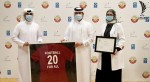 Football for All Award presented to Ministry of Public Health