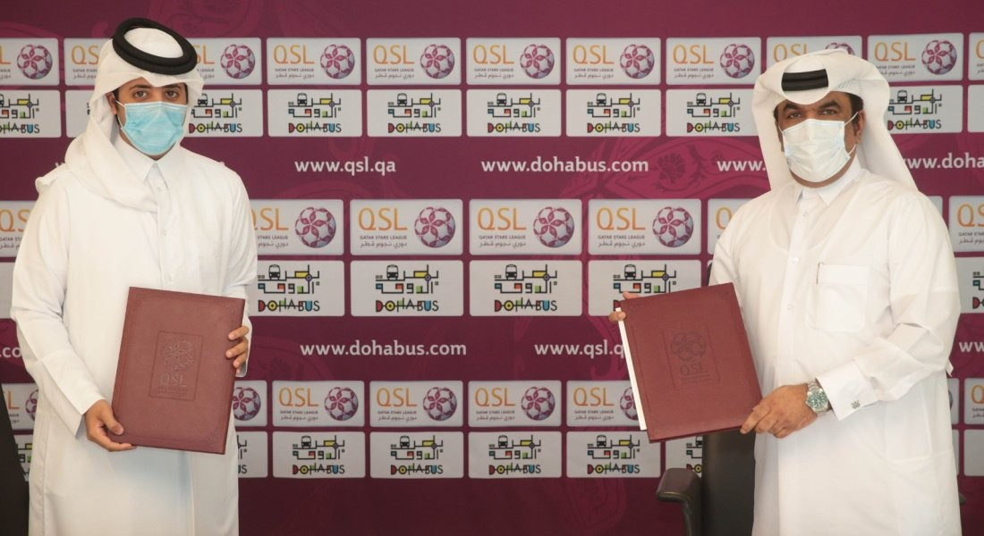 Qatar Stars League signs sponsorship agreement with Doha Bus company