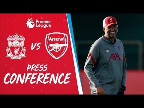 Jürgen Klopp's pre-match press conference   Arsenal