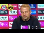 LIVE 🔴 FC Bayern Pressetalk mit Hansi Flick vor dem Supercup gegen Borussia Dortmund