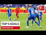 Top 5 Goals • Forsberg, Kimmich & Co. | Matchday 2 -2020/21