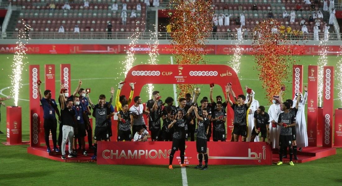 Al Sadd 2019-20 season Ooredoo Cup champions
