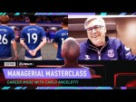 """I Moved Pirlo From 10 To Holding Midfielder"" - Ancelotti Manager Masterclass 