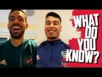 NAME 2020/21 PREMIER LEAGUE CLUBS | Gabriel Martinelli v Pablo Mari | What Do You Know?