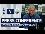PRESS CONFERENCE | JOSE MOURINHO PREVIEWS LASK | Spurs v LASK