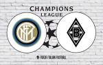 Inter v Borussia Monchengladbach: Official Line-Ups