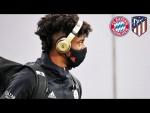 LIVE 🔴 FC Bayern Ankunft in der Allianz Arena vor dem Spiel gegen Atletico Madrid