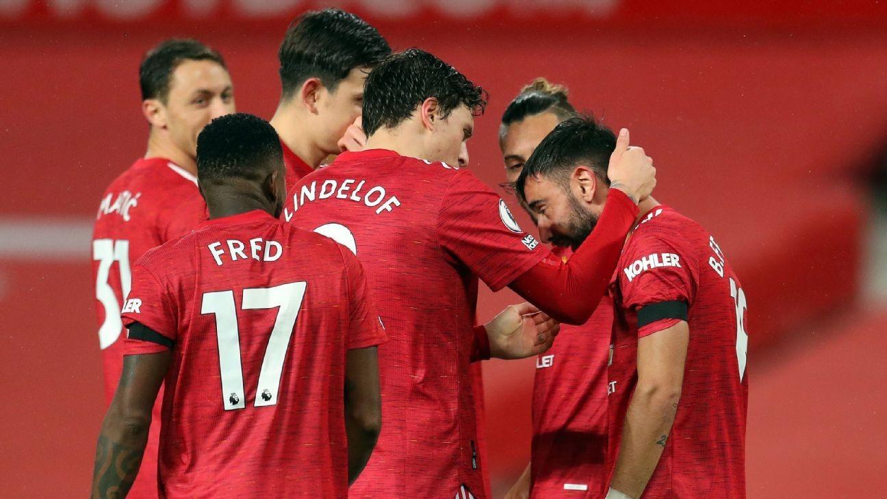 Fernandes' VAR-reviewed pen gives Man Utd win