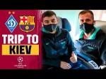 🛬 Touchdown! BARÇA arrive in KYIV!