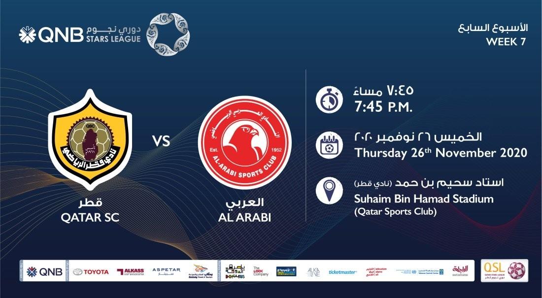 QNB Stars League Week 7 – Qatar SC vs Al Arabi