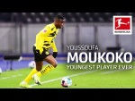Youssoufa Moukoko's First Game For BVB | Who is Borussia Dortmund's New Supertalent?