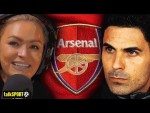 Laura Woods insists Mikel Arteta is the right man to take Arsenal forward