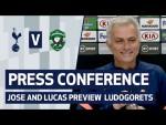 PRESS CONFERENCE | JOSE MOURINHO AND LUCAS MOURA PREVIEW LUDOGORETS