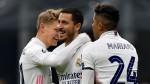 Hazard shows encouraging form, Madrid boost last-16 hopes