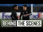 The boys prepare for Molde | Behind the scenes at Arsenal training