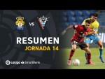 Resumen de UD Las Palmas vs CD Mirandés (0-2)