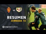 Resumen de Real Zaragoza vs Rayo Vallecano (1-2)