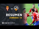Resumen de Real Sporting vs CE Sabadell (3-1)