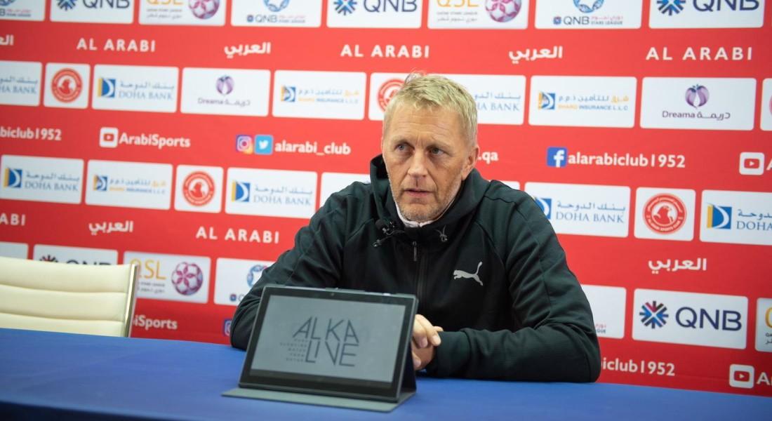 Match against Al Sailiya is important: Al Arabi coach Hallgrimsson