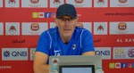 We're ready for Al Khor and we'll strive to collect three points: Al Rayyan coach Blanc