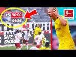Top 10 Most Dramatic Injury-Time Goals 2020 - Lewandowski, Haaland & More