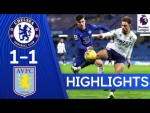 Chelsea 1-1 Aston Villa | Premier League Highlights