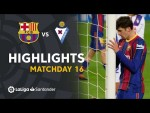 Highlights FC Barcelona vs SD Eibar (1-1)