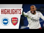 HIGHLIGHTS | Lacazette scores the winner | Brighton vs Arsenal (0-1) | Premier League